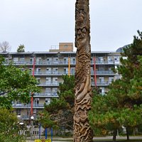 Totem Pole in the park