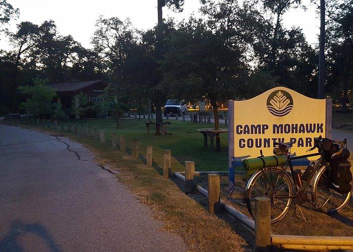 Entrance at Camp Mohawk