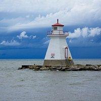 Beautiful Skyline & Lighthouse