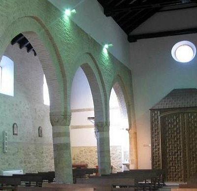 Interior de la Parroquia de Santiago Lucena.