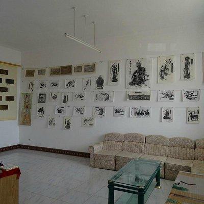 隣接の博物館