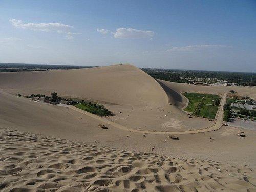 ゴビ砂漠ですがさらさらの砂です。