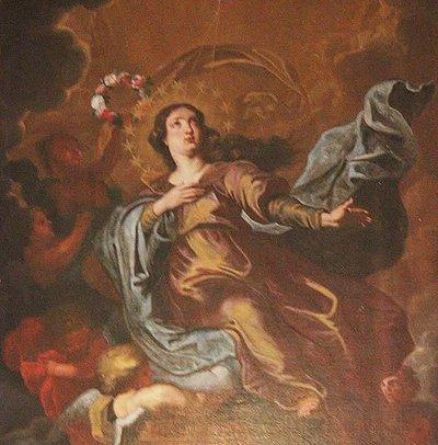 dipinto seicentesco