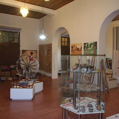 Salão principal do museu