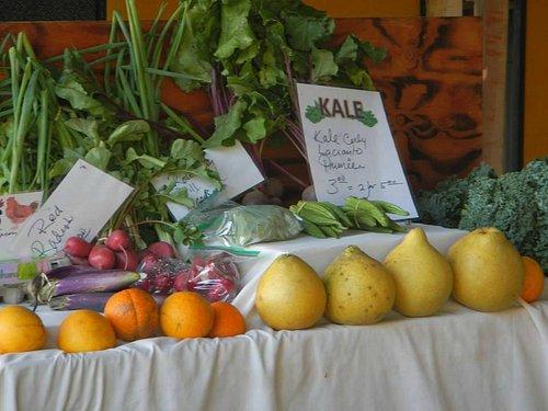 Fresh local seasonal produce from Kealia Farm