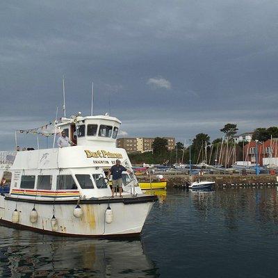 Dart Princess coming into Paignton harbour