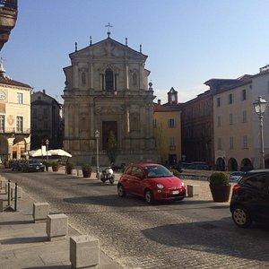 Chiesa de la Missione from Piazza Maggiore