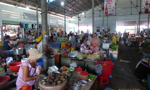 Stalls inside
