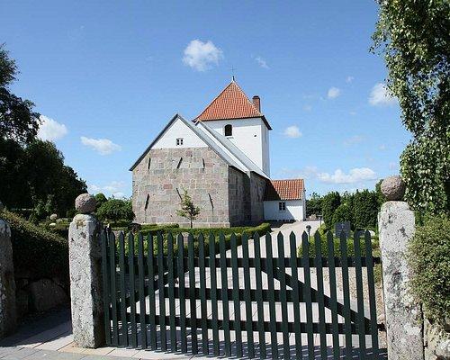 Kirken ved ankomst