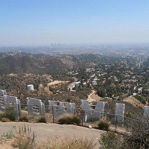 Backside Hollywood Sign