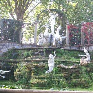 York House Garden Fountain