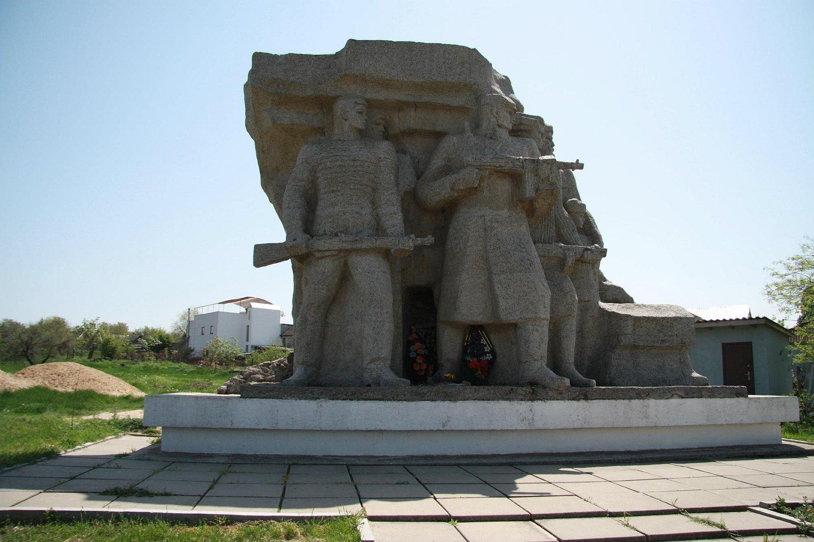 памятник защитникам Одессы