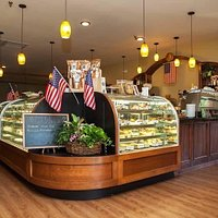 Awesome bakery items and great coffee selection.
