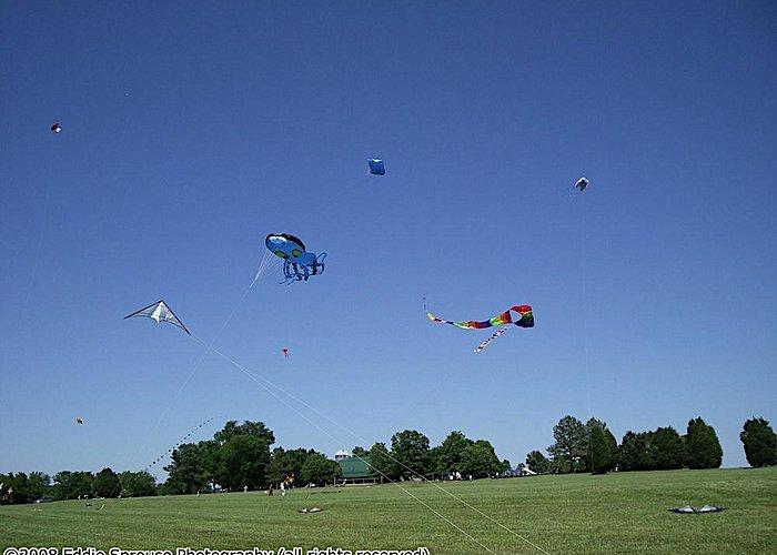 WACKOS Kite Club Flying at Frank Liske Park in 2008