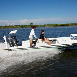 Backcountry Charter Service Boat