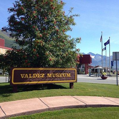The Old Valdez and Valdez Museums.