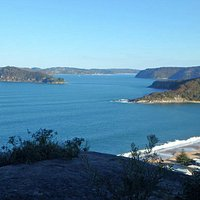 Lion Island and Pittwater