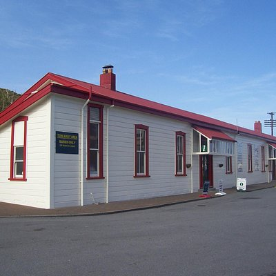 Greymouth i-SITE - Railway Station