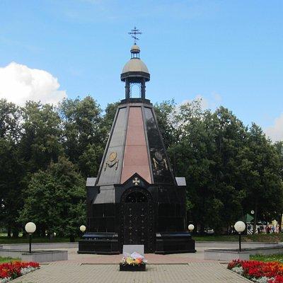 Часовня Александра Невского - памятник защитникам Отечества во все времена