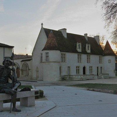 Cayac - Statue du Pèlerin (de Danièle BIGATA)
