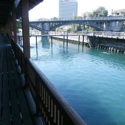 Flussbad Untere Letten