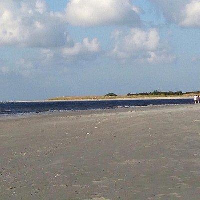Savannah River Beach, Tybee Island, GA