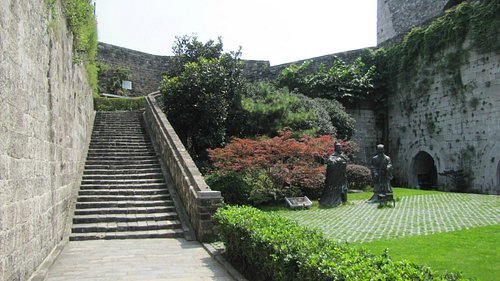 Лестница в крепости