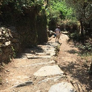 footpath from Monterosso to Vernazza