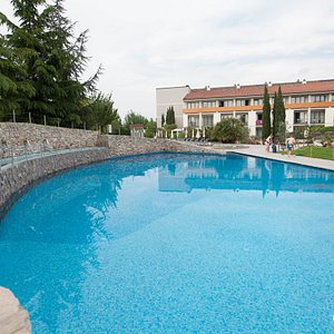 The Outdoor Pool A at the Parc Hotel