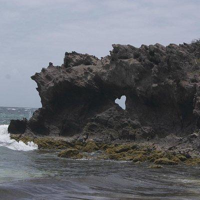 Anse grosse roche (sur le parcours)