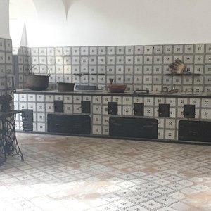 Cucina palazzo De Nicastri