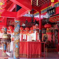 Internal of the Buddhist temple