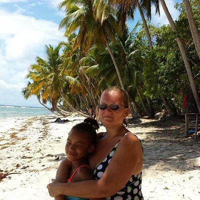 Playa Fronton à Las Galeras