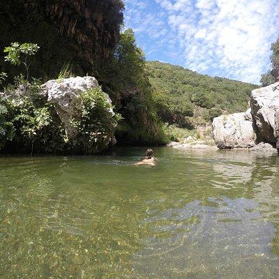 """Waterfall """"Sa Stiddiosa"""""""
