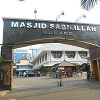 Gerbang masjid