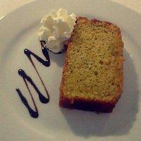 Torta de naranja y semillas de amapola