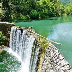 Mirror Lake and dam