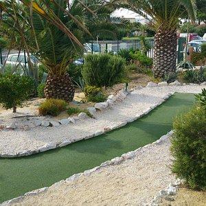 Le Golden Beach mini golf