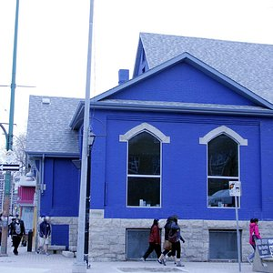 Exterior, Silent Witness Project presented at the  West End Cultural Centre, Ellice Ave.  Winnip