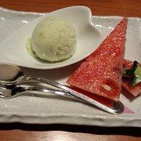 だだちゃ豆のアイスクリームが美味しい