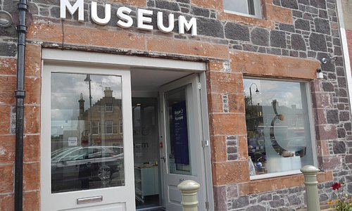 Biggar & Upper Clydesdale Museum entrance