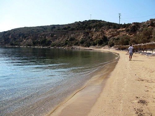 La spiaggia di Limionas a Kefalos - Kos