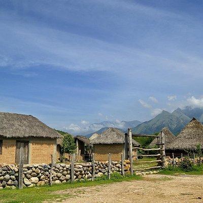 Pueblo  talanquera indigena Kankuamo,  Valledupar, Colombia