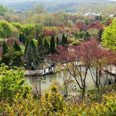 용인 한택식물원 전경