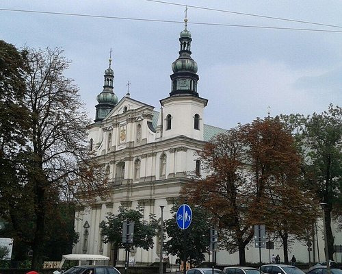 The most beautiful church in Cracow
