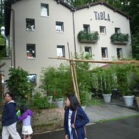 at Tabla Indian Restaurant, Lugano Switzerland