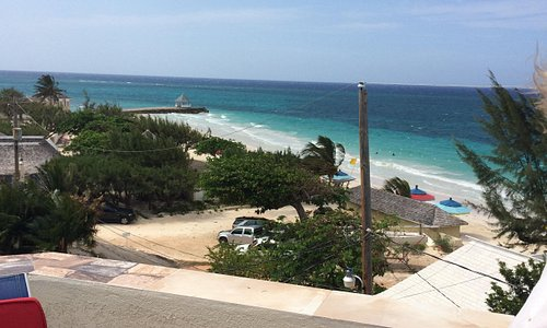 Beach view from roof top