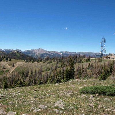 The Radio Tower from Lobo Overlook