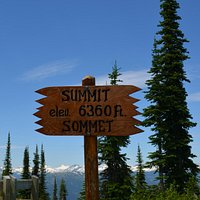 Reaching the Summit at Meadows in the Sky Parkway