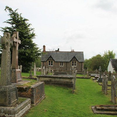 The Burial Ground and Parish House